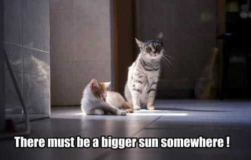 bigger sun