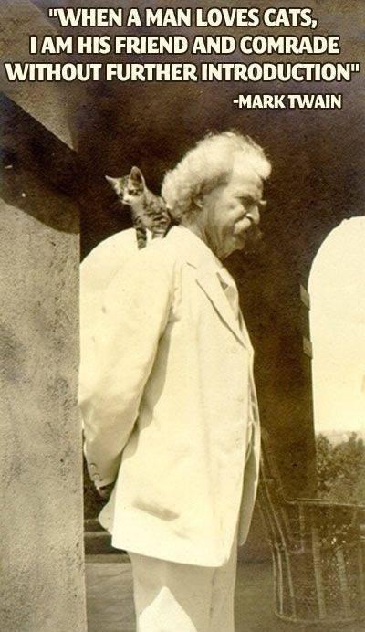 Mark Twain Cats