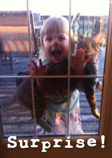 surprise kid