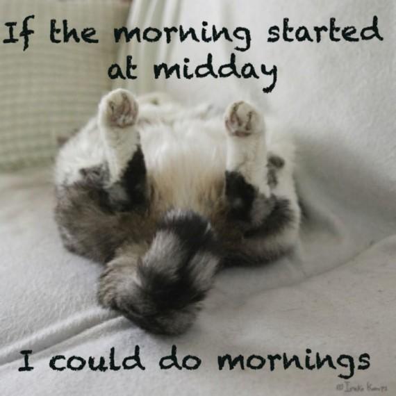 morning lol