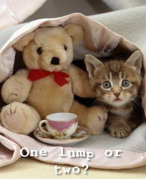 one lump