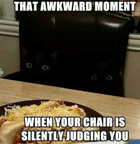 awkward lol
