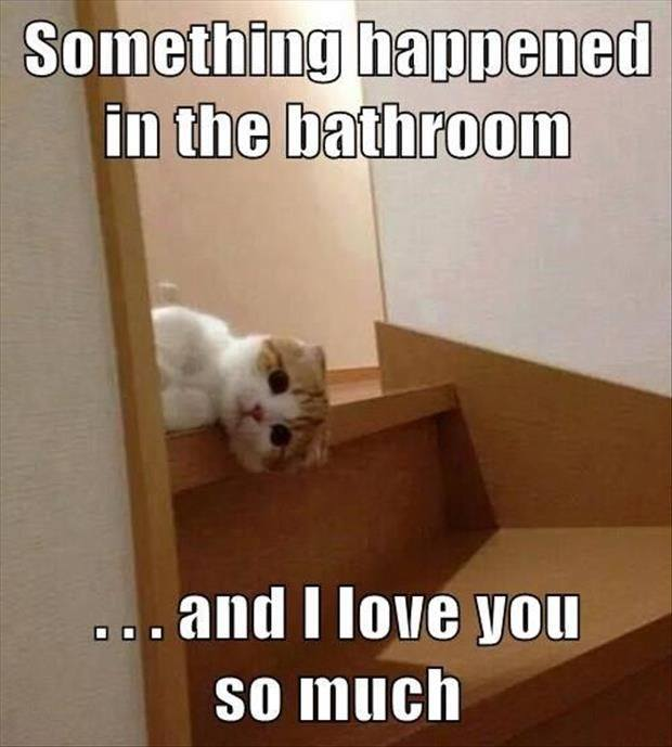 happened bathroom lol