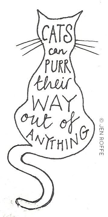 purr their way